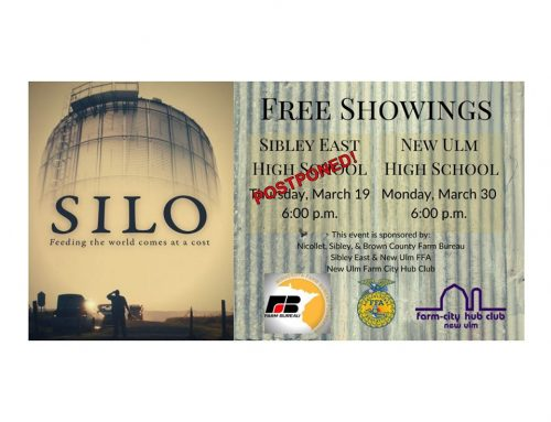 Showings of the movie Silo POSTPONED
