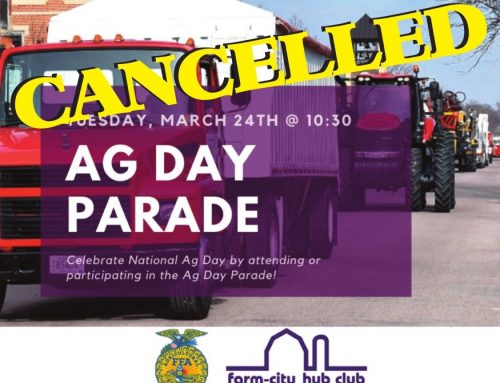 CANCELLED Ag Day Parade 2020
